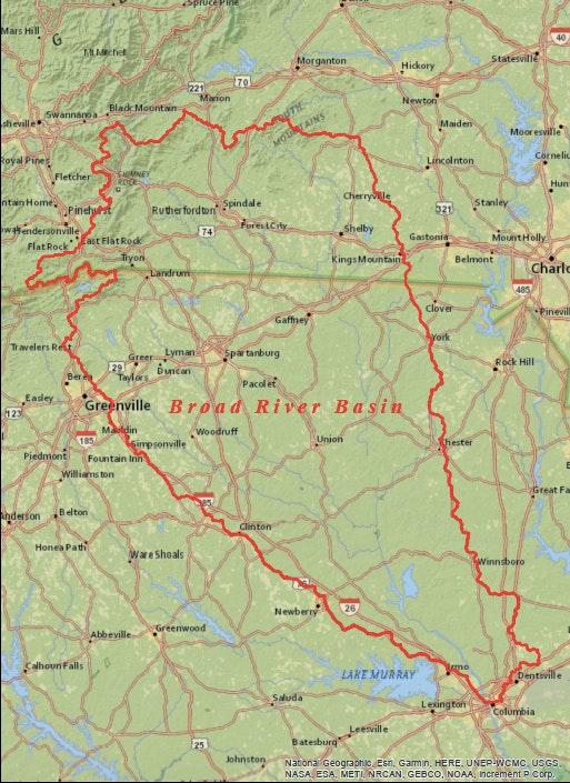 Broad River Basin