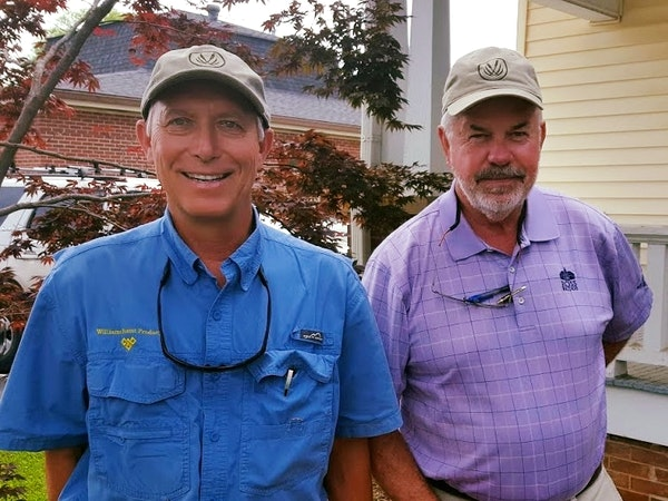 Two Rivers' Protected Property Owners (L: Harold Williams and R: Steve Ashley)
